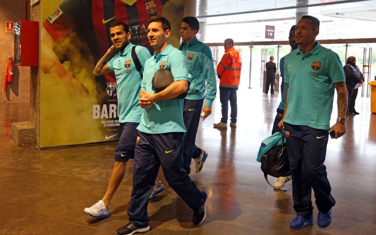 El Barça-Athletic Club, des de dins
