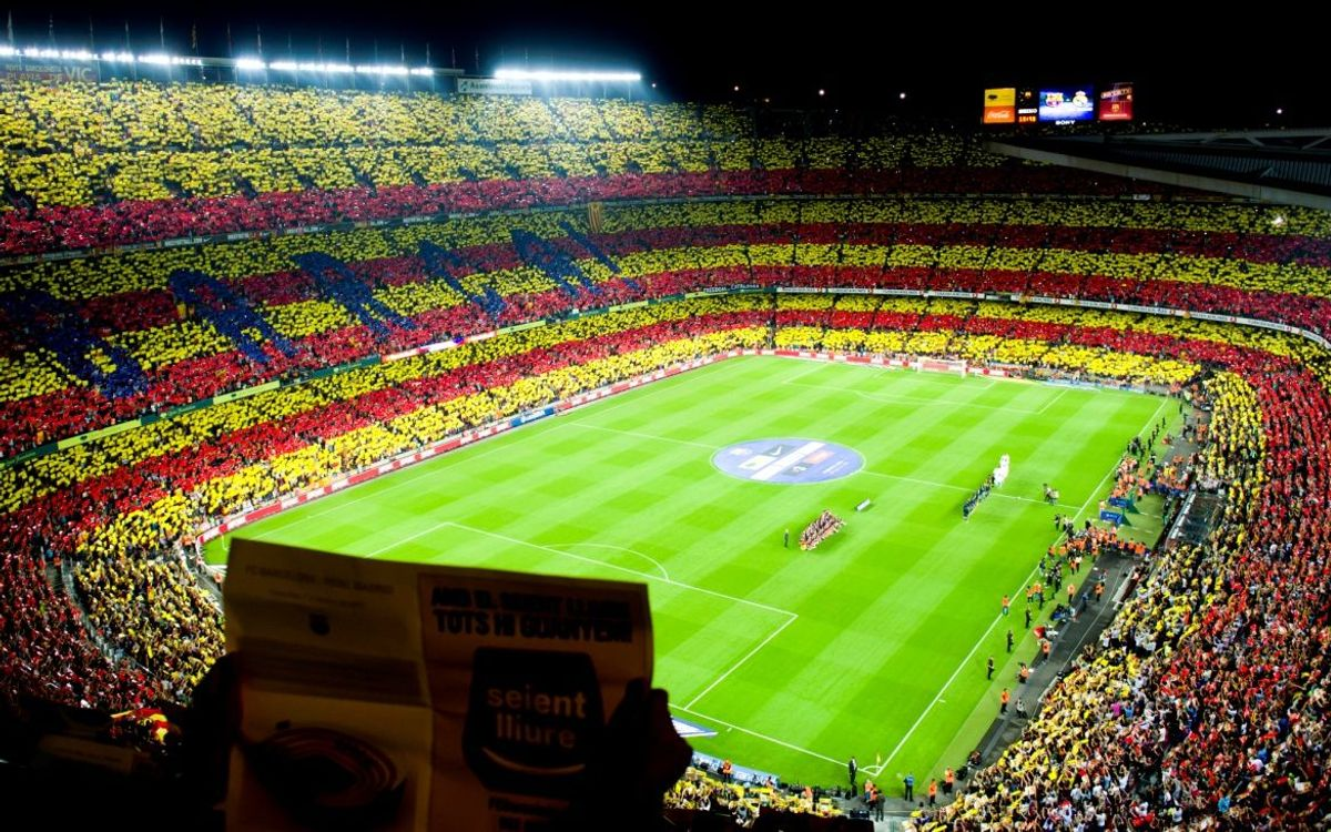 FC Barcelona sign Catalan National Pact for Self -Determination