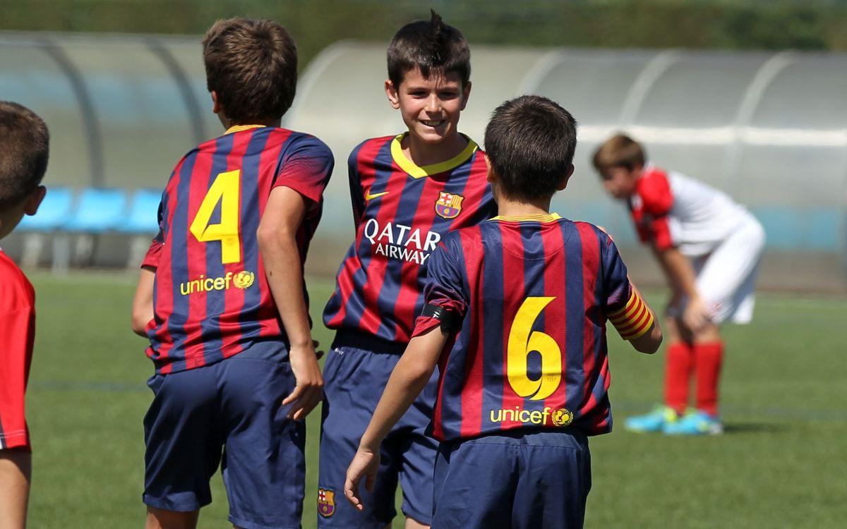 Cinco grandes goles de la cantera con dedicatoria especial para Tito Vilanova