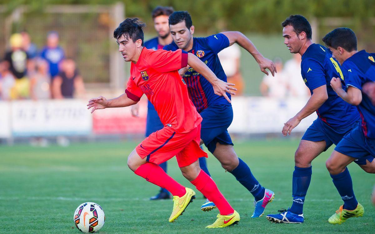 Joel Huertas, cedido al Badalona la temporada 2014/15