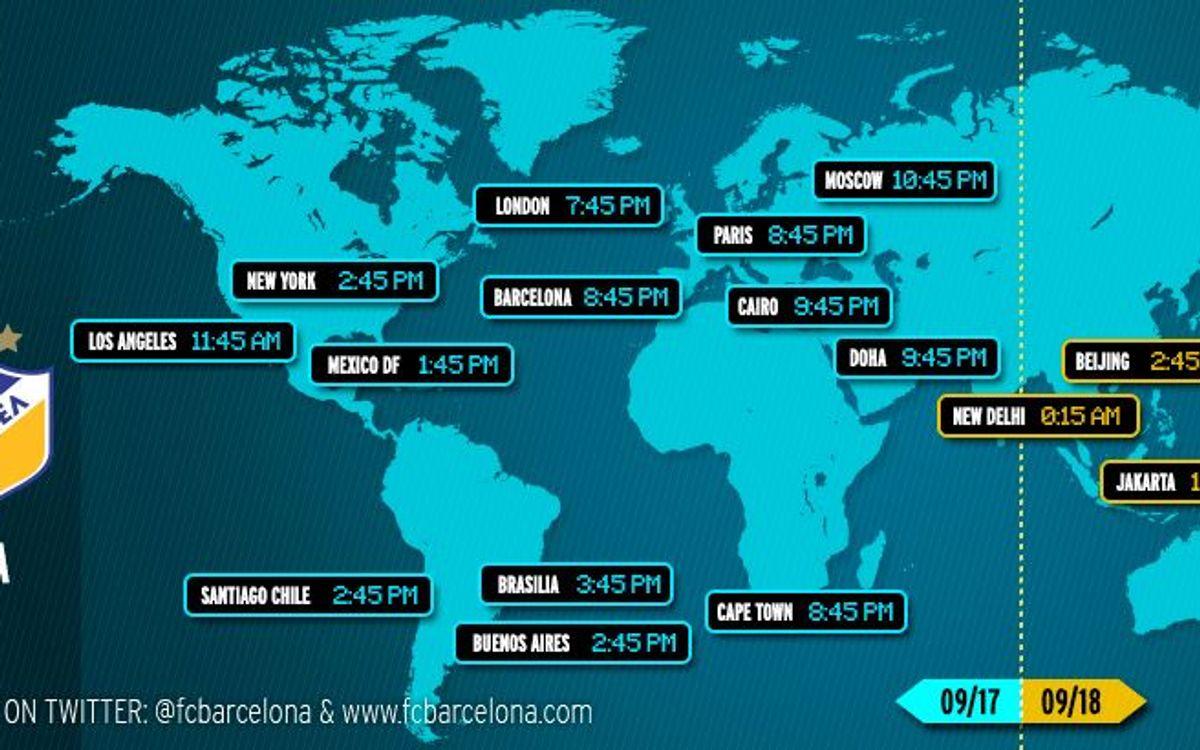 Où et quand voir le match FC Barcelone - APOEL