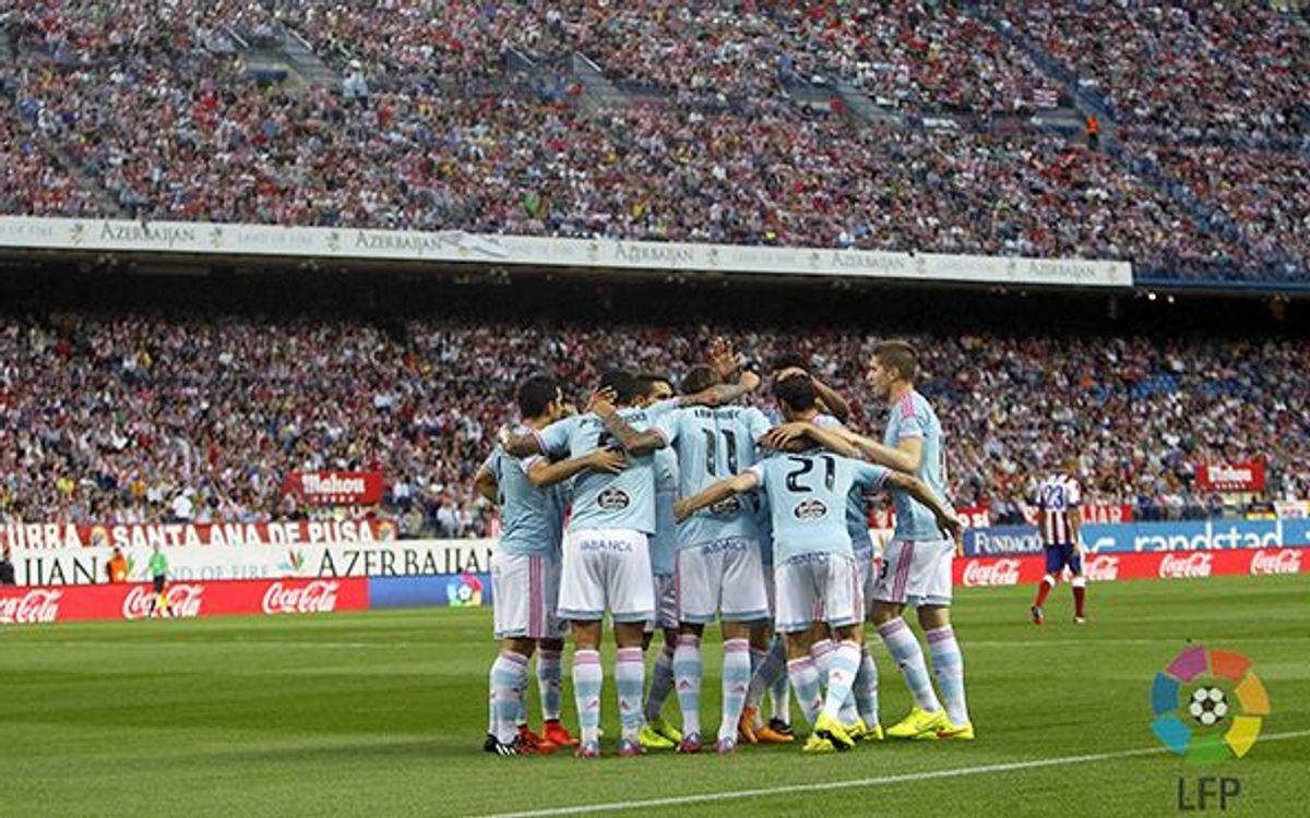 Le Celta, seule équipe invaincue à l'extérieur en Liga