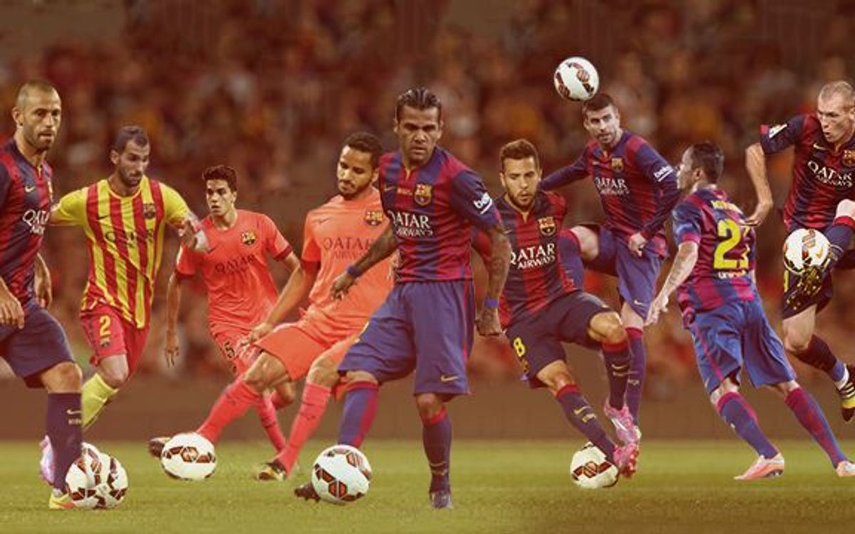 FC Barcelona defence coping perfectly with changes