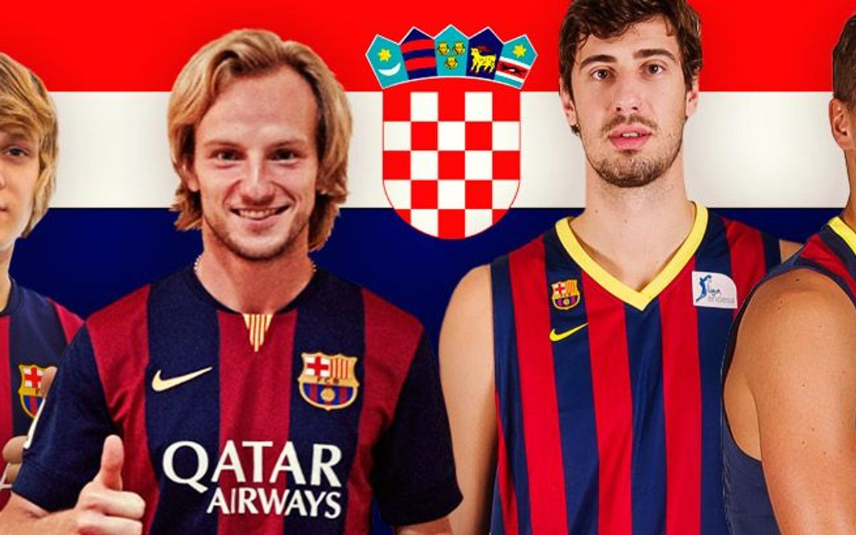 Rakitic continues FC Barcelona's Croatian tradition