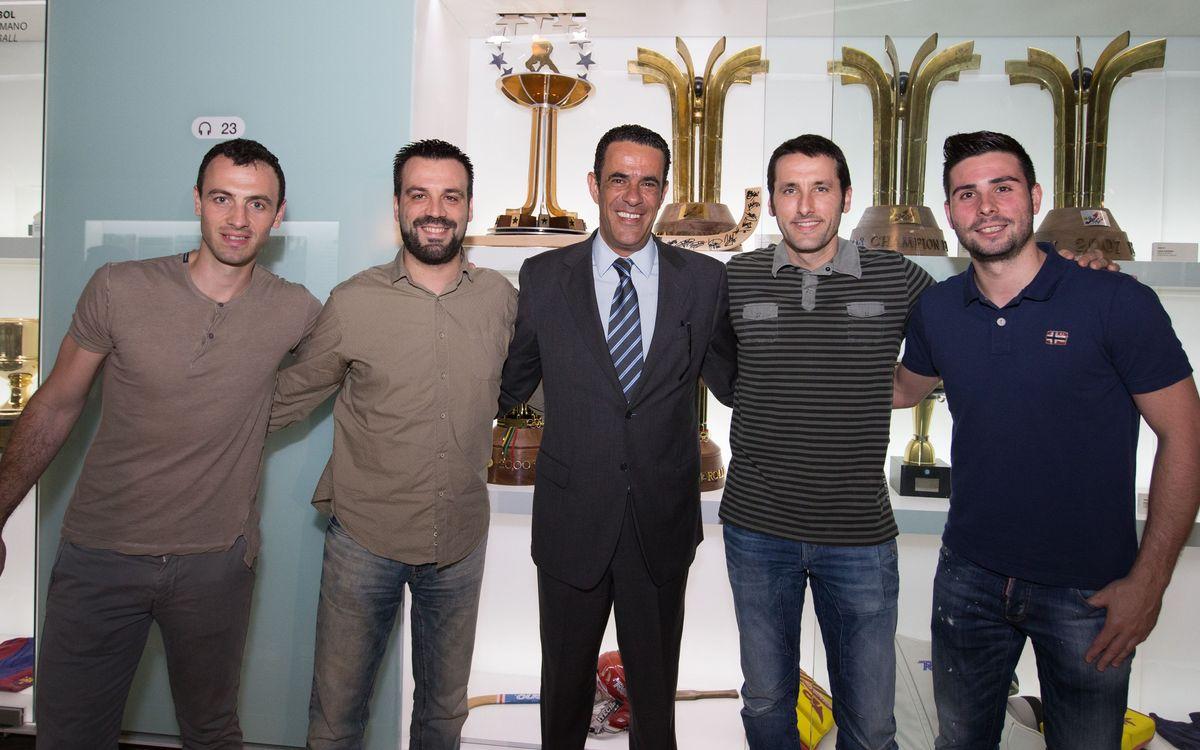 La vigésima Liga Europea de hockey patines ya está en el Museo del Club