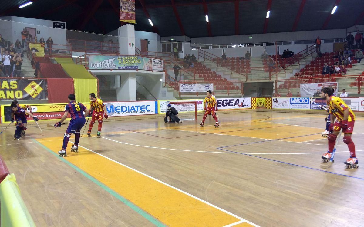 Hockey Bassano-FC Barcelona: Victòria de prestigi (3-6)