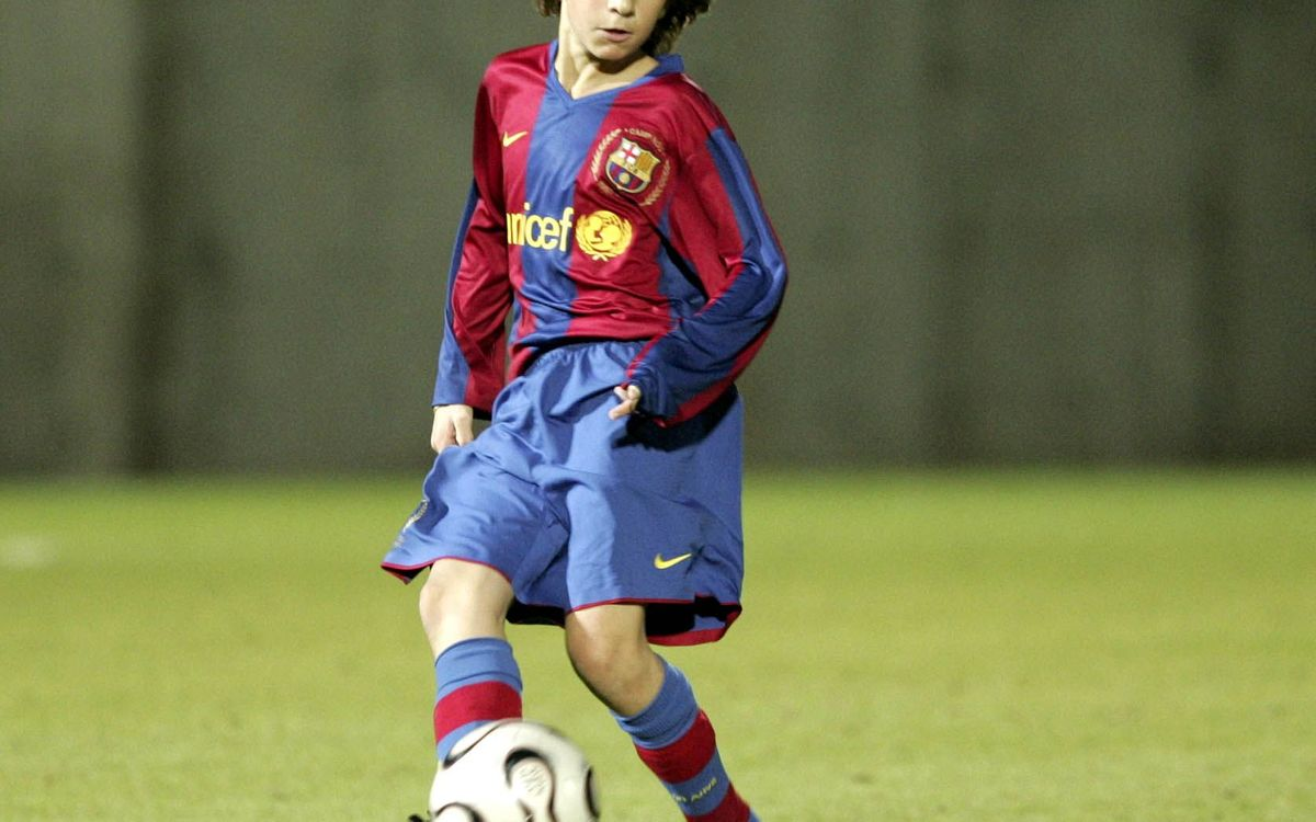 Samper - from FCB Escola to Champions League