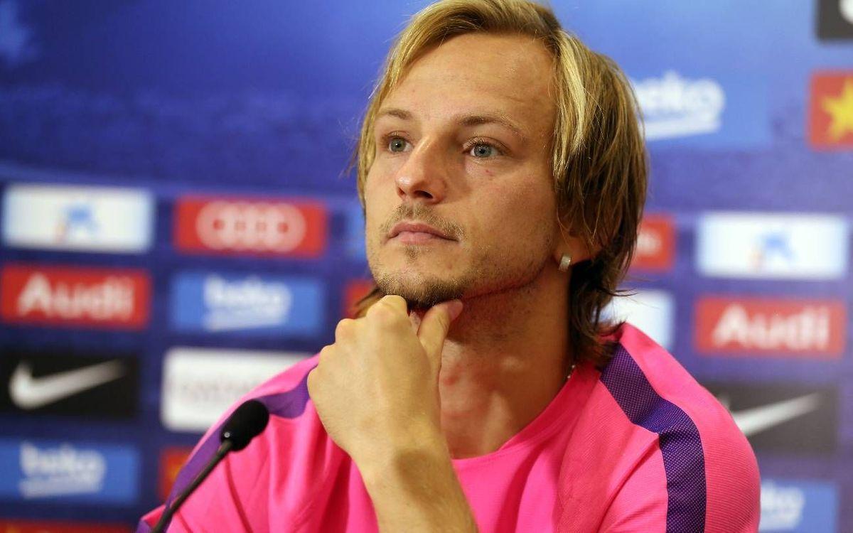 LIVE - Ivan Rakitic press conference