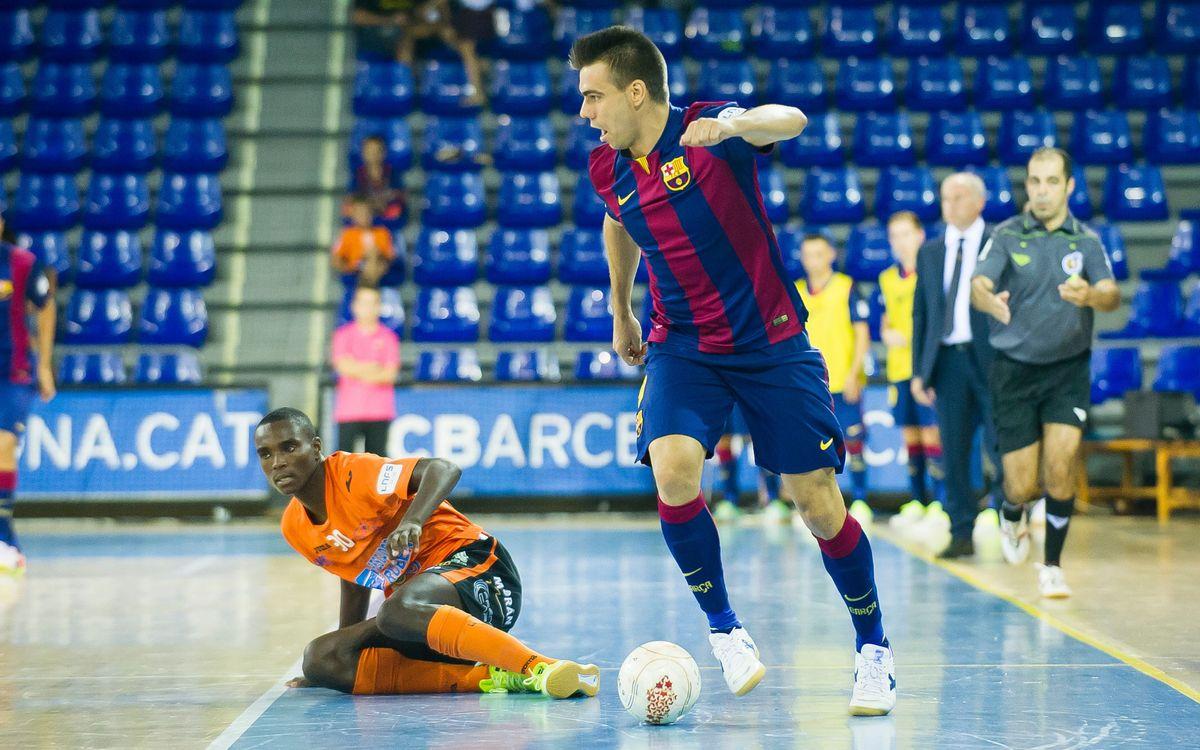El primer hat-trick de la temporada de Sergio Lozano