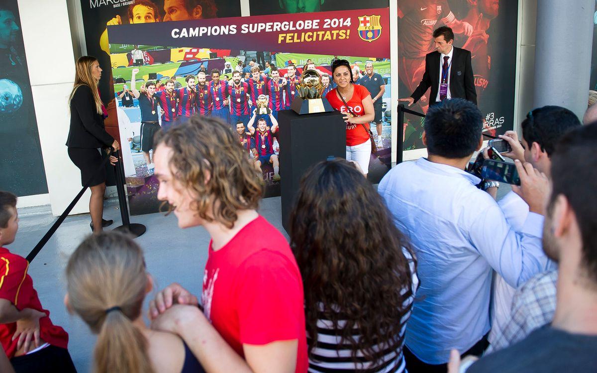 Els aficionats del Barça, amb la SuperGlobe
