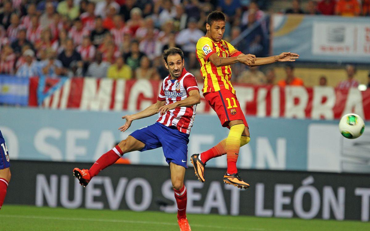 Atletico Madrid - FC Barcelone: Pour l'histoire