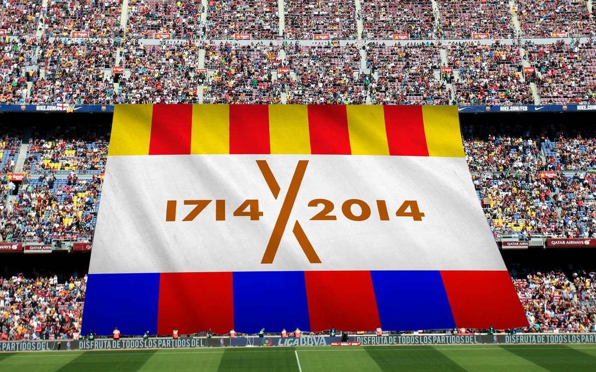 Special banner to commemorate the Tri-centenary