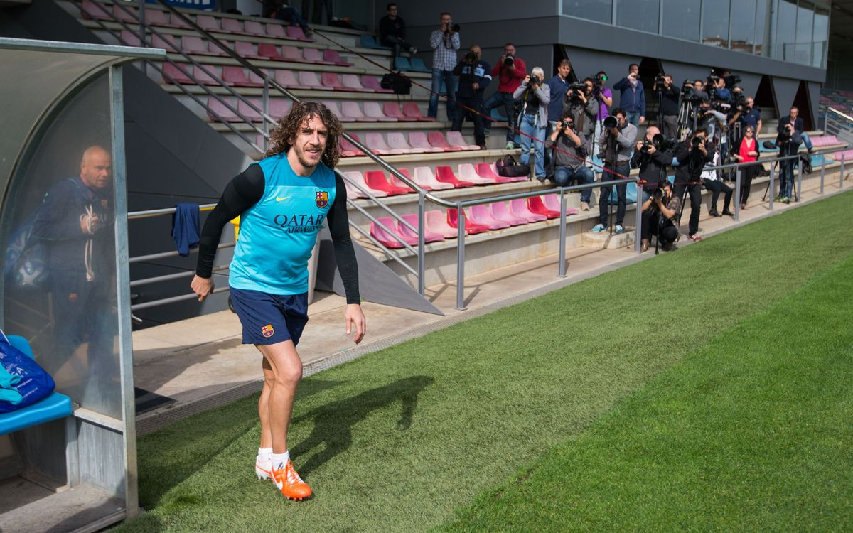 Bartra, Piqué and Puyol to travel to Valencia