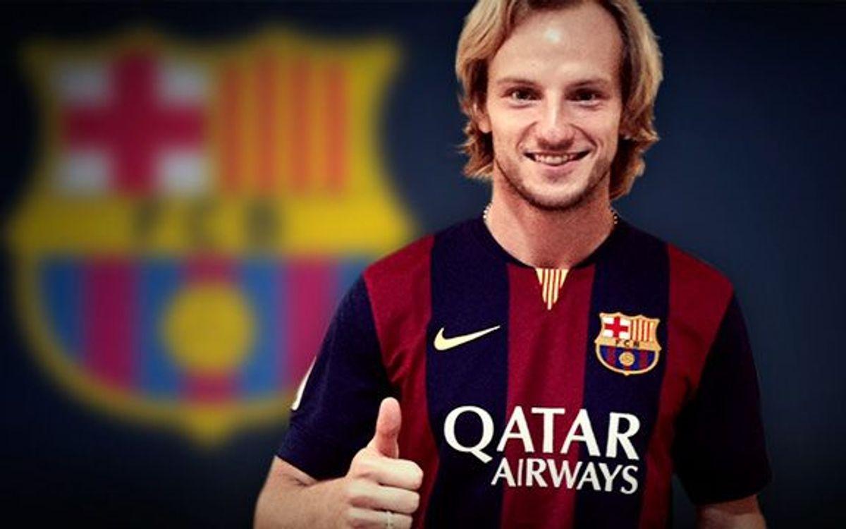 イバン・ラキティッチ、FCバルセロナと合意