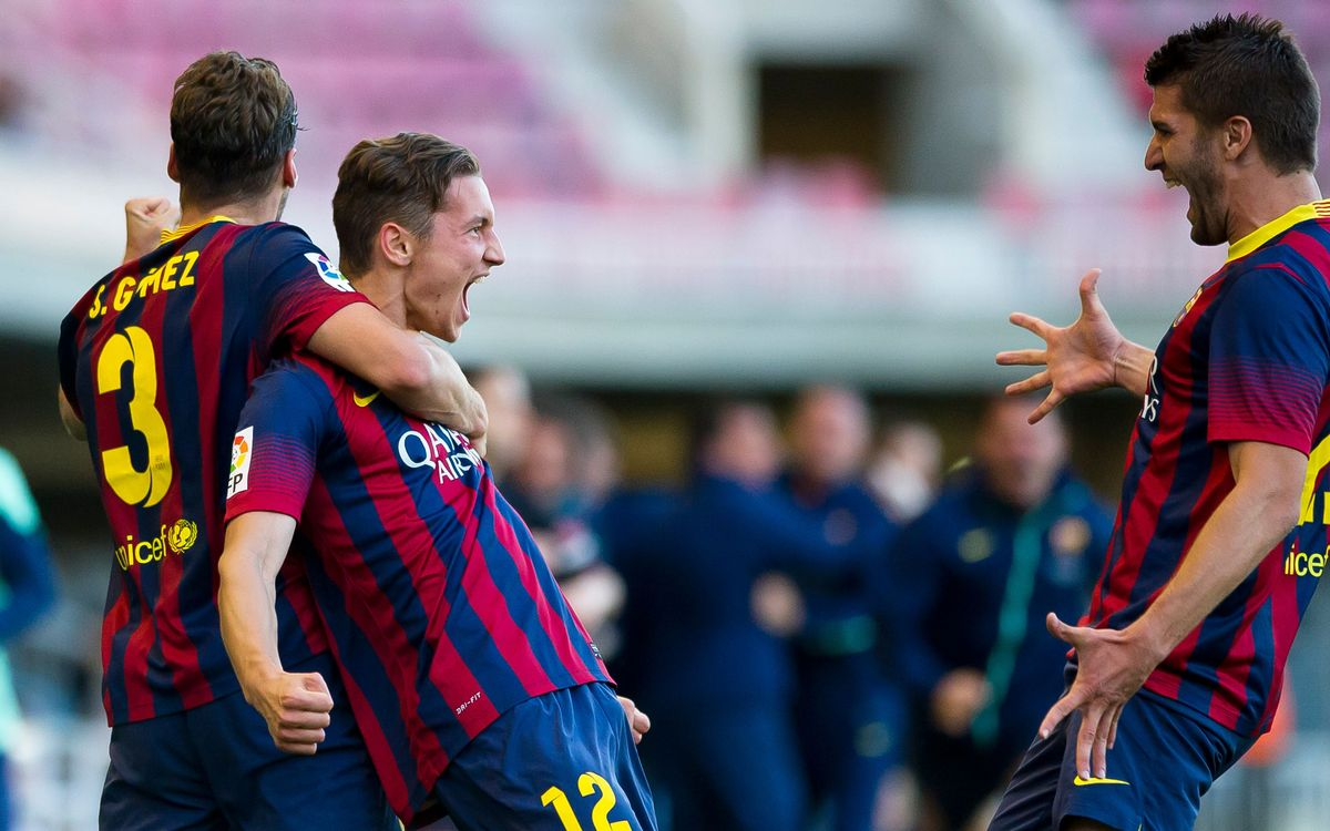 Barça B-Alcorcón: Fightback in last game of the season at the Mini(4-3)