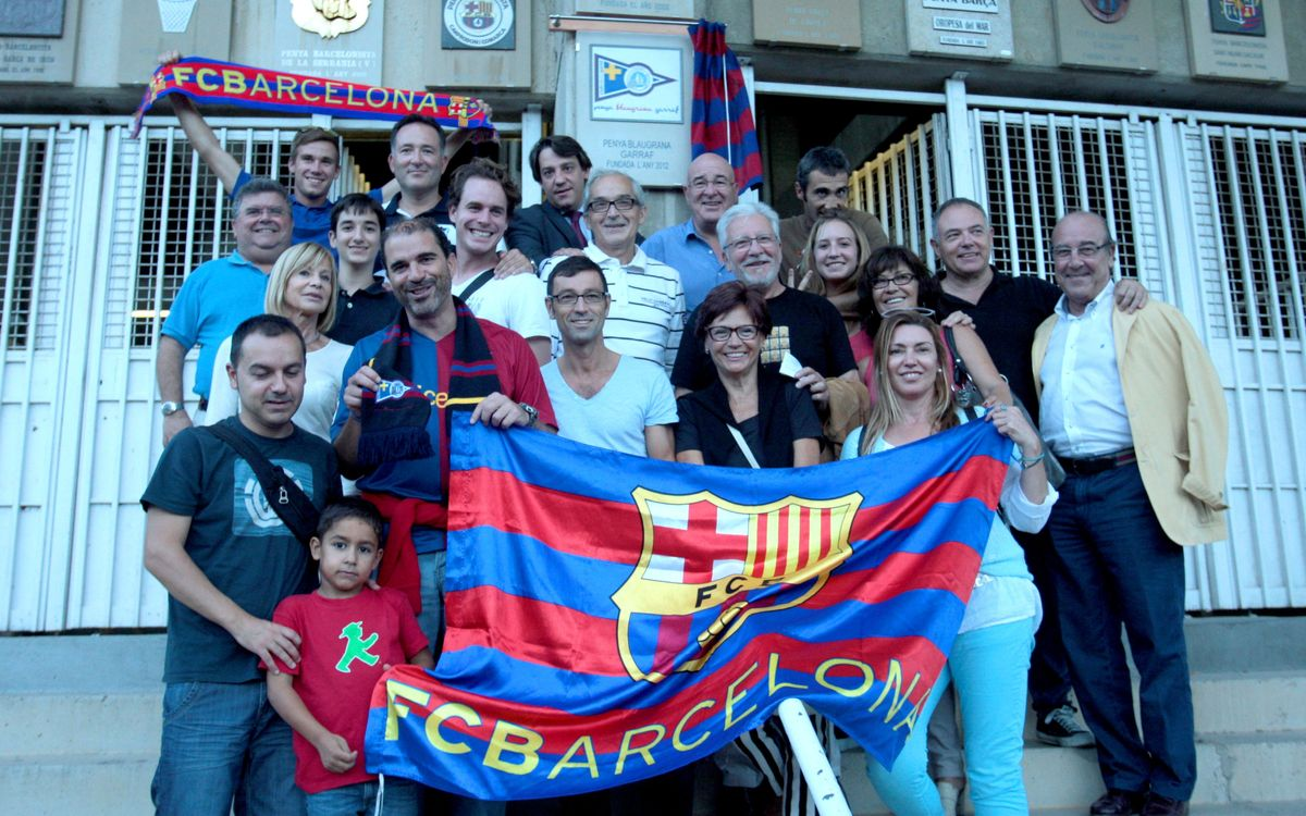 Four shields dedicated before Barça v Eibar