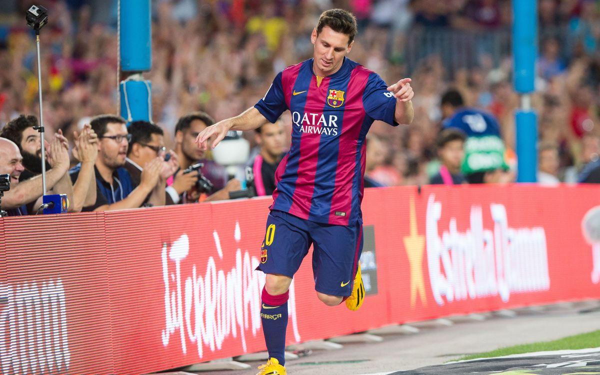 FC Barcelona v Elche CF: La Liga gets started