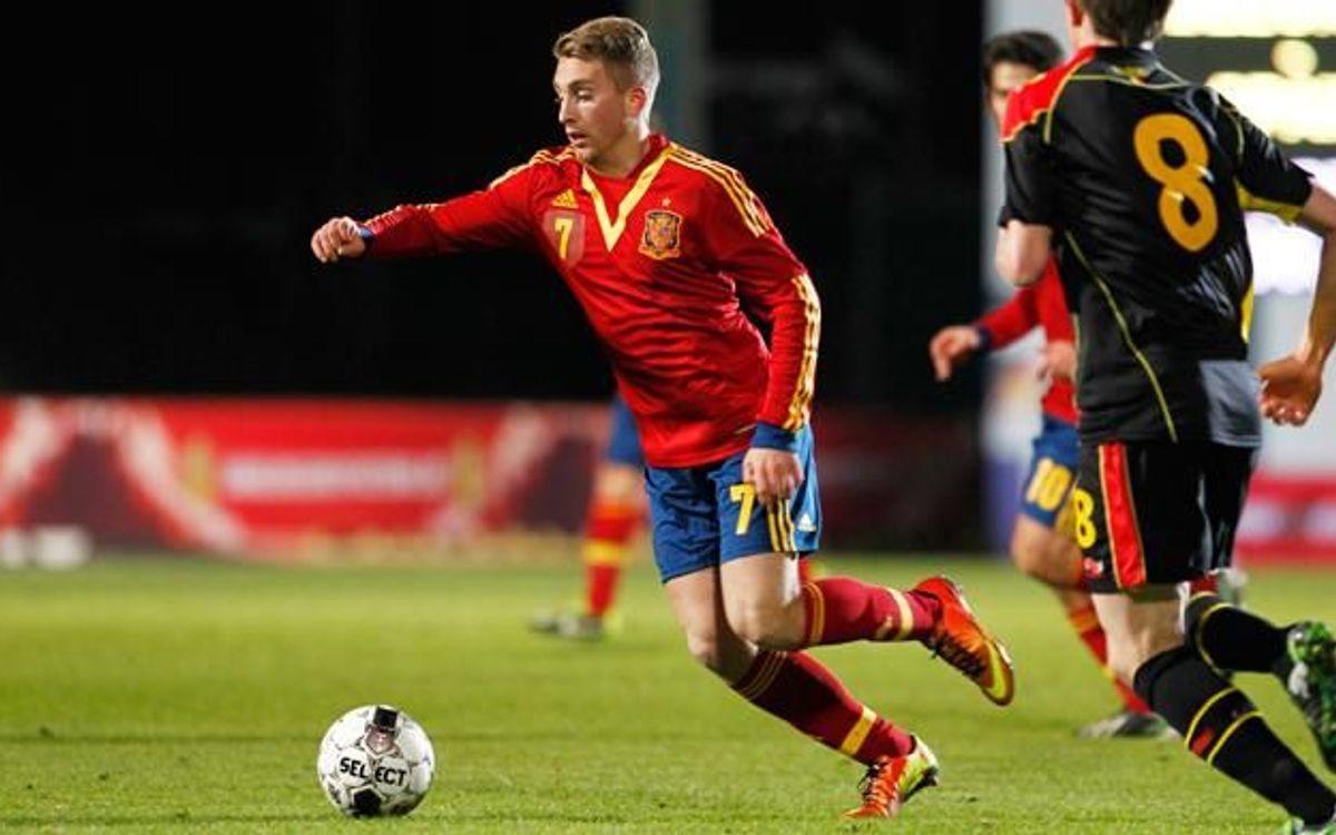 ジェラルド・デウロフェウ、スペインA代表親善試合に招集