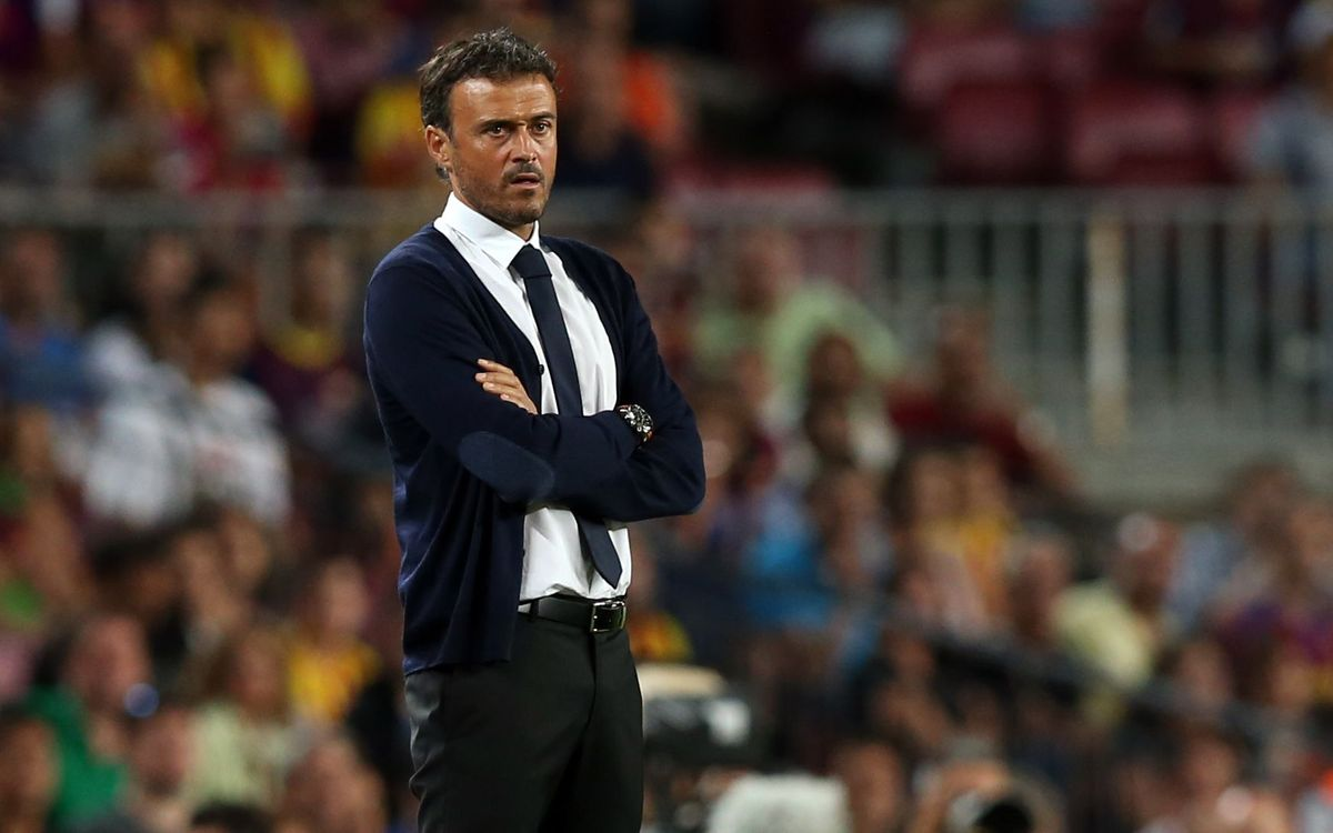 "Luis Enrique: ""The Barça fans have gone home happy"""
