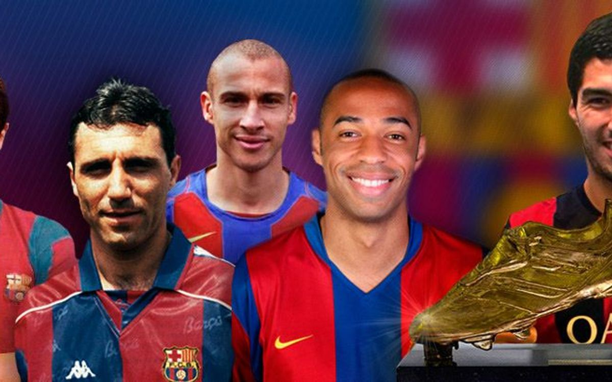 Five Golden Boot winners that have signed for FC Barcelona