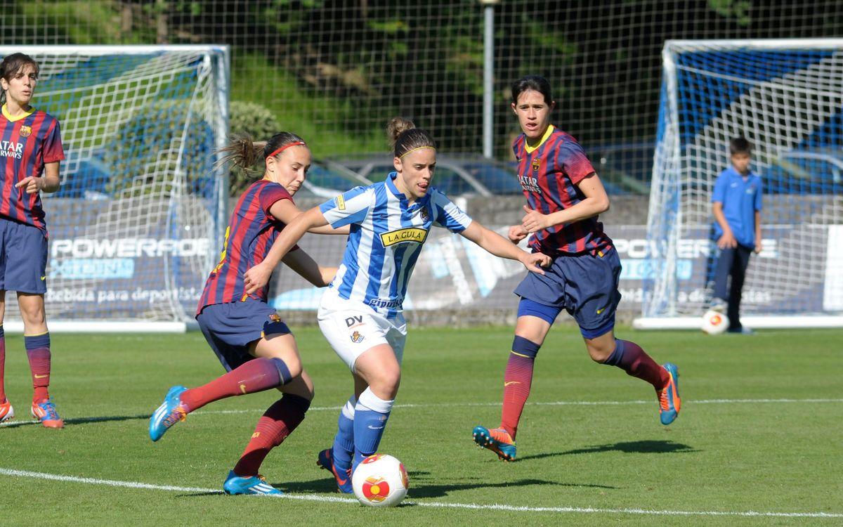 Real Sociedad - Femenino A: Victoria para empezar (0-1)