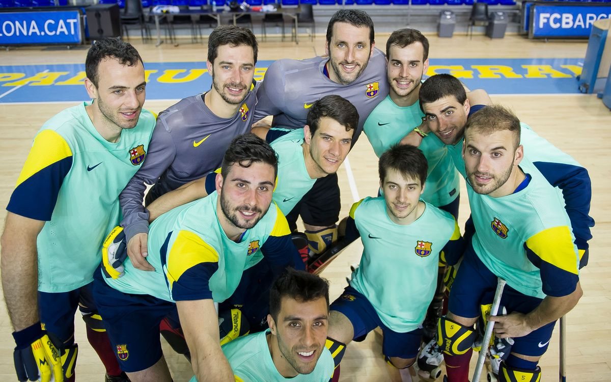 Els líders estadístics del Barça d'hoquei patins