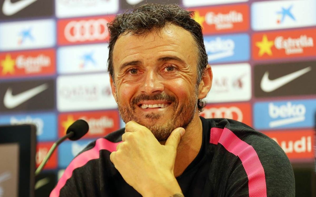 LIVE - Luis Enrique press conference: Friday, Sept. 12, 2014
