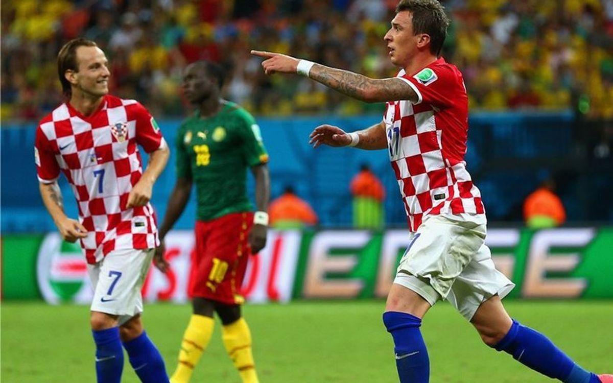 La Croatie de Rakitic élimine le Cameroun de Song (0-4)