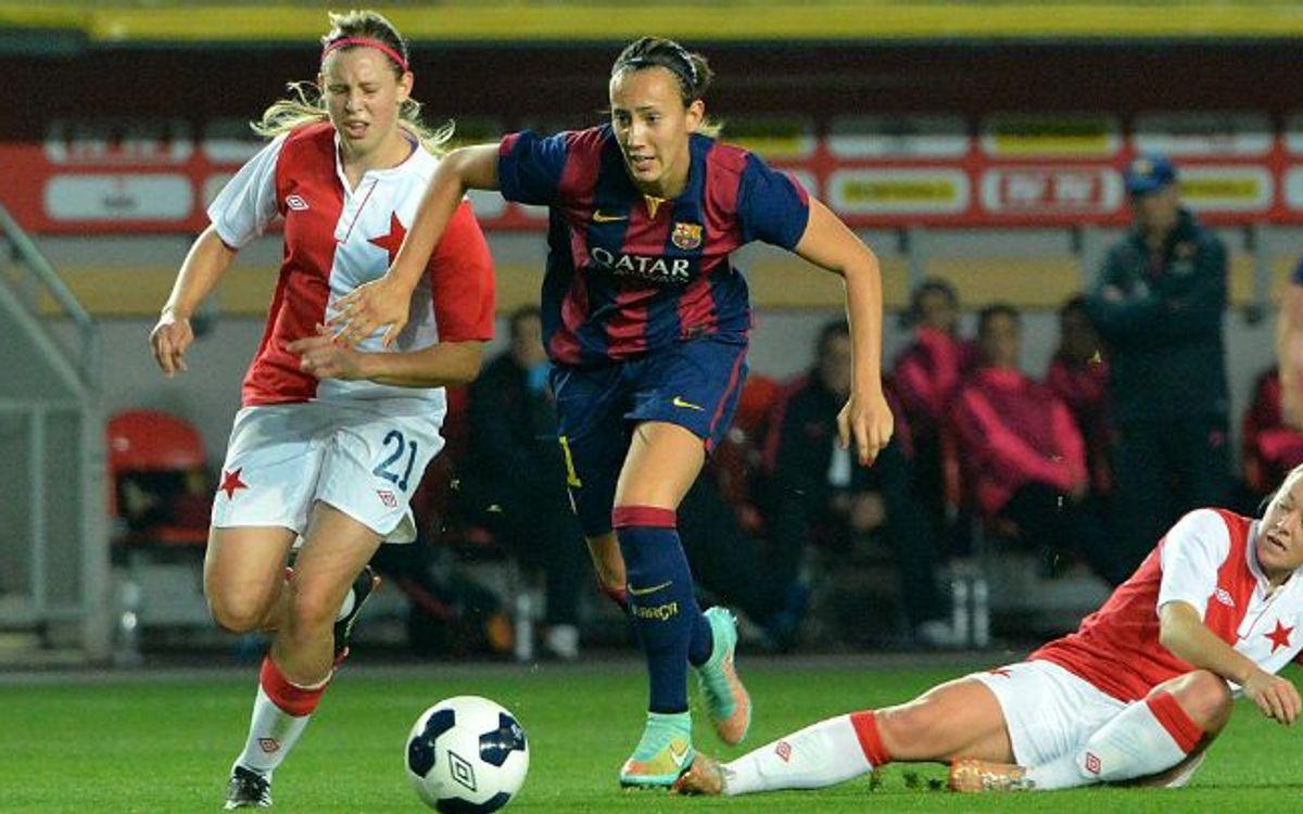 Slavia Prague v FC Barcelona: Wonderful start (0-1)