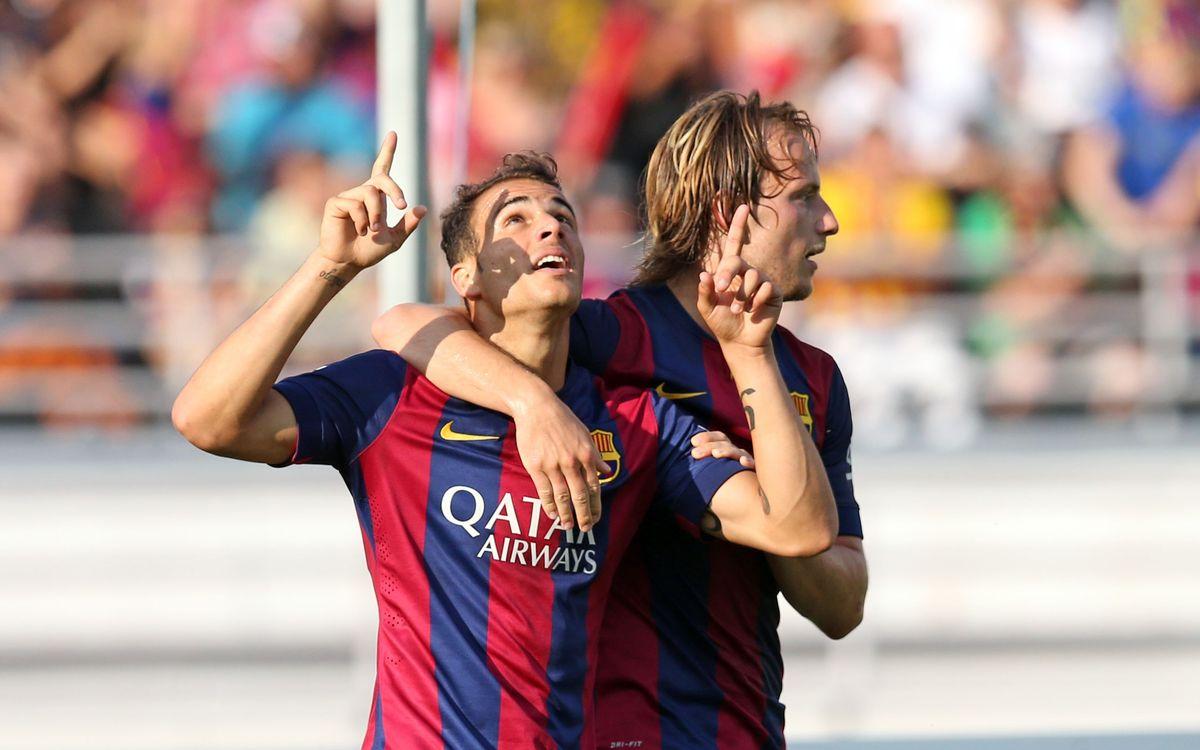 Los goles del Helsinki - Barça