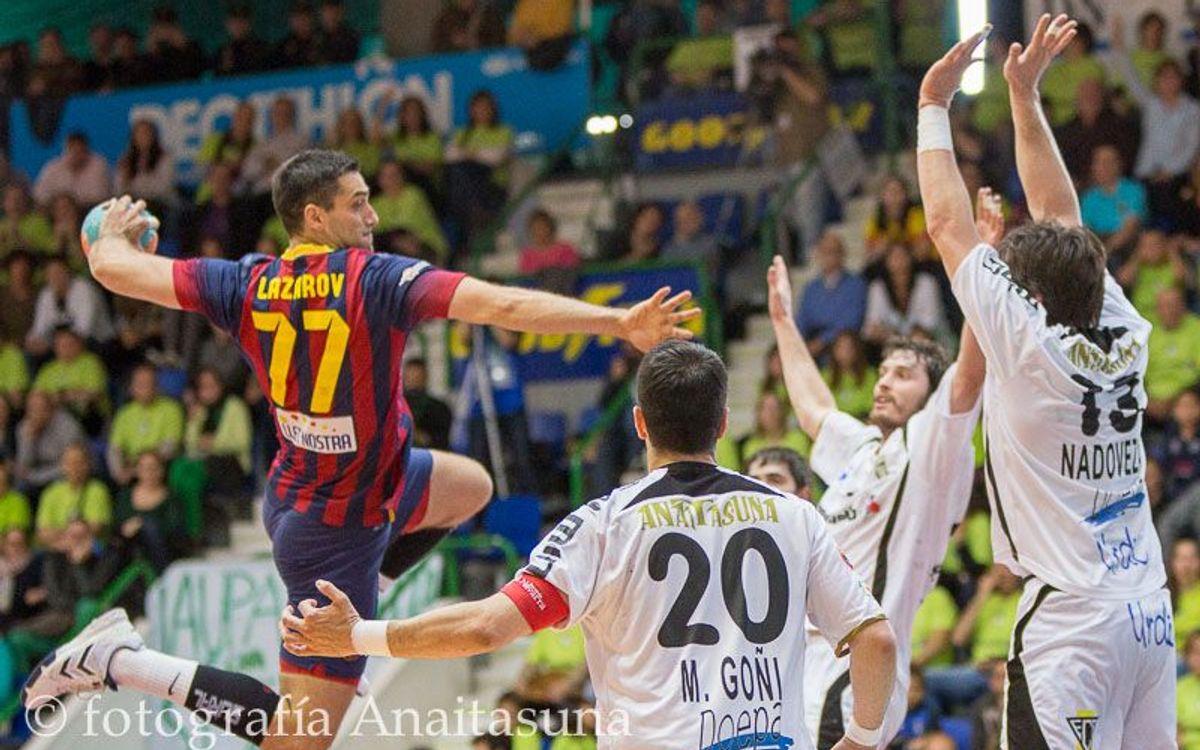 El Barça de balonmano, a por el quinto título de la temporada