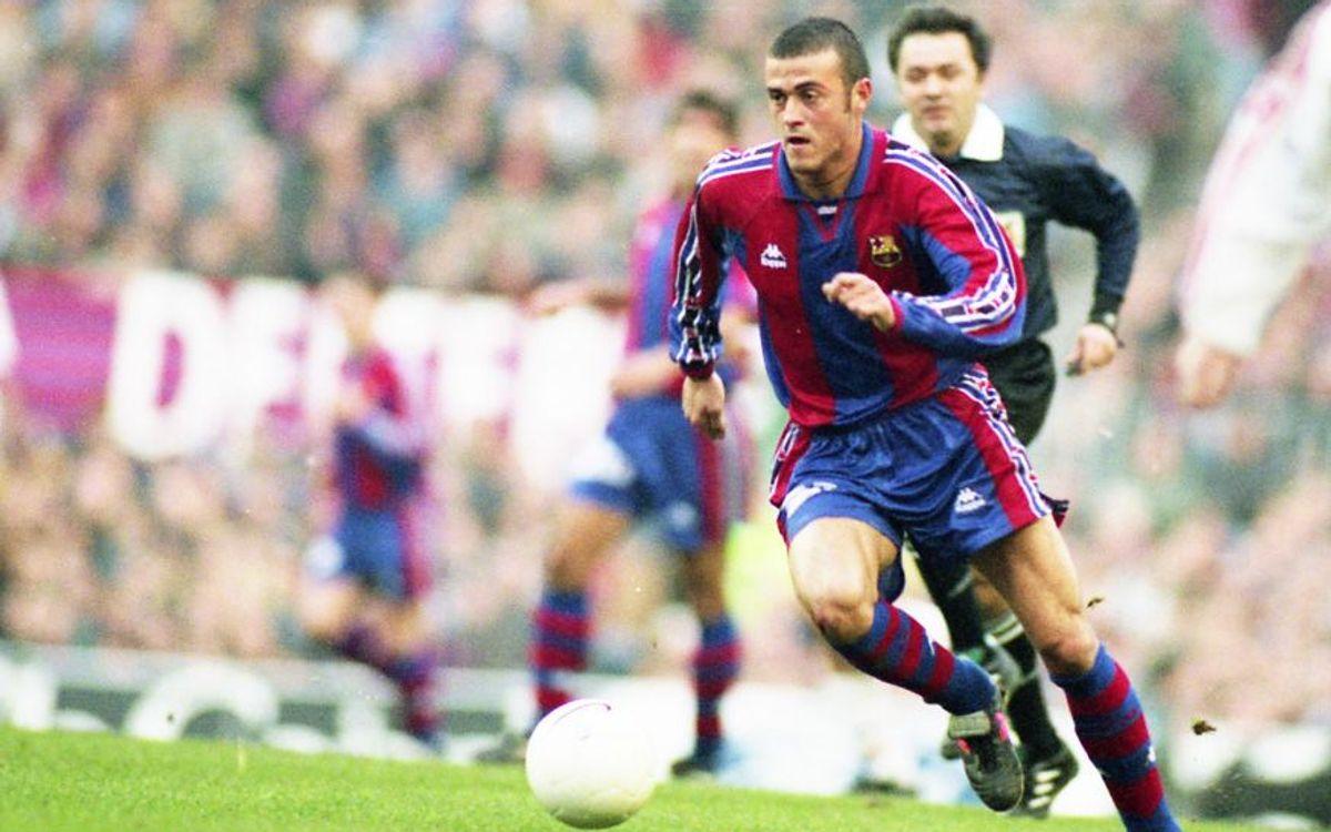 Luis Enrique's goal against Unzué