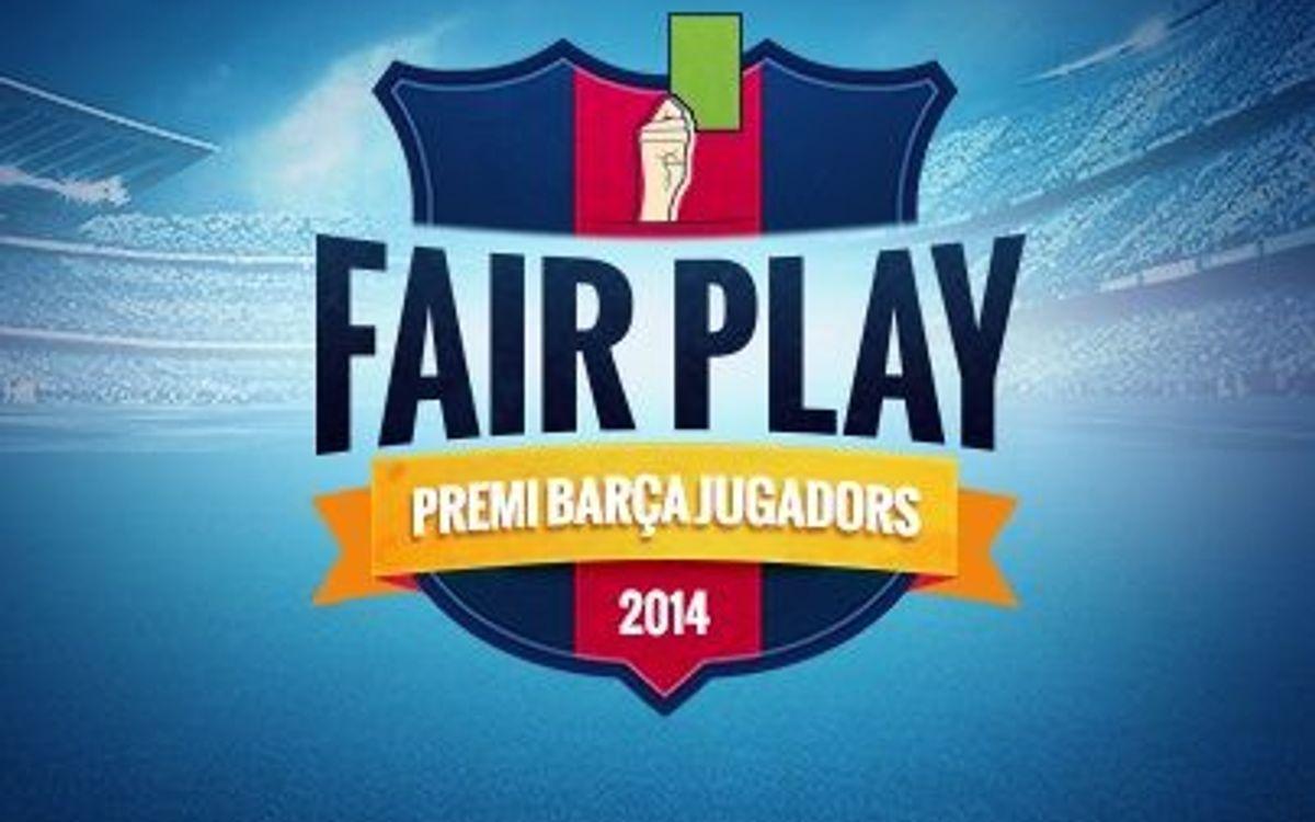 Los seis finalistas del quinto Premio Barça Jugadores