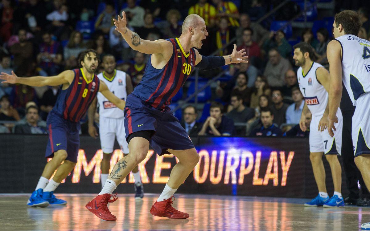 El Palau se despide del TOP 16 con un Barça - Baskonia