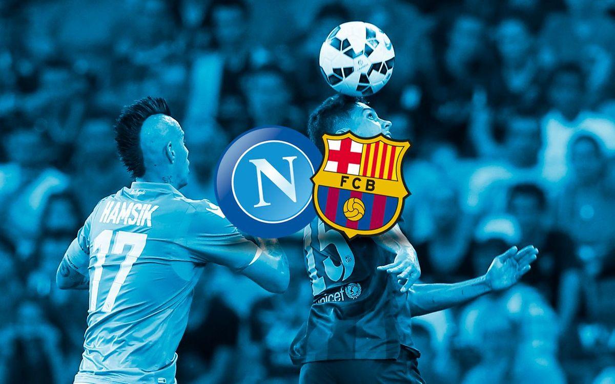 SSC Napoli: 1 - FC Barcelona: 0