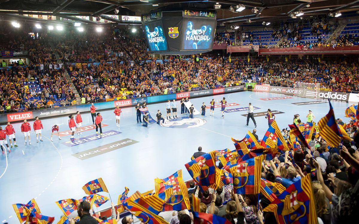 FC Barcelona–Rhein Neckar Löwen: entrades de visibilitat reduïda a la venda