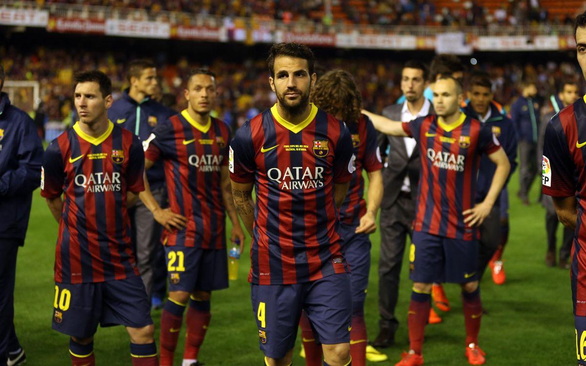 FC Barcelona – Real Madrid: Se escapa la Copa (1-2)