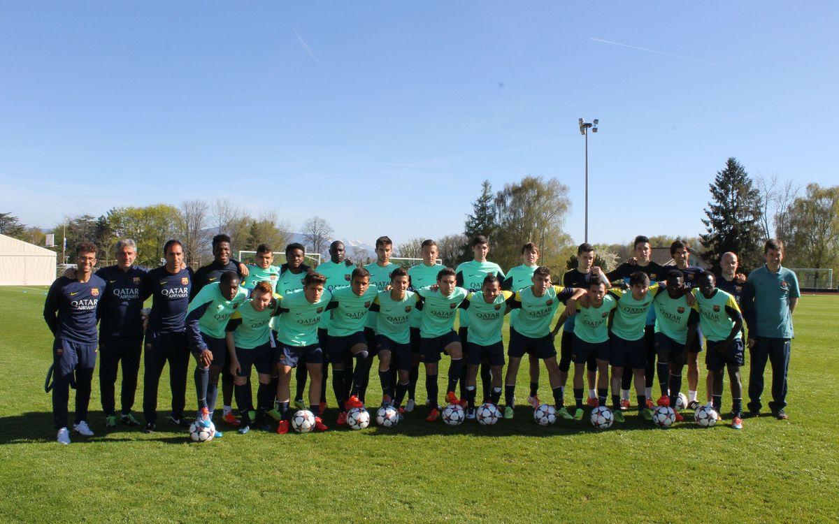 Juvenil A-Schalke 04: L'hora de la il·lusió