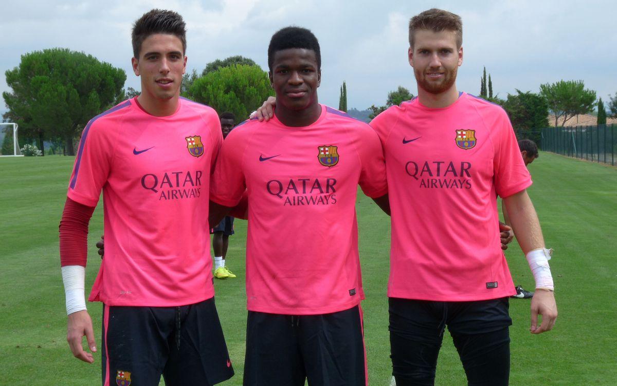 La nova porteria del Barça B