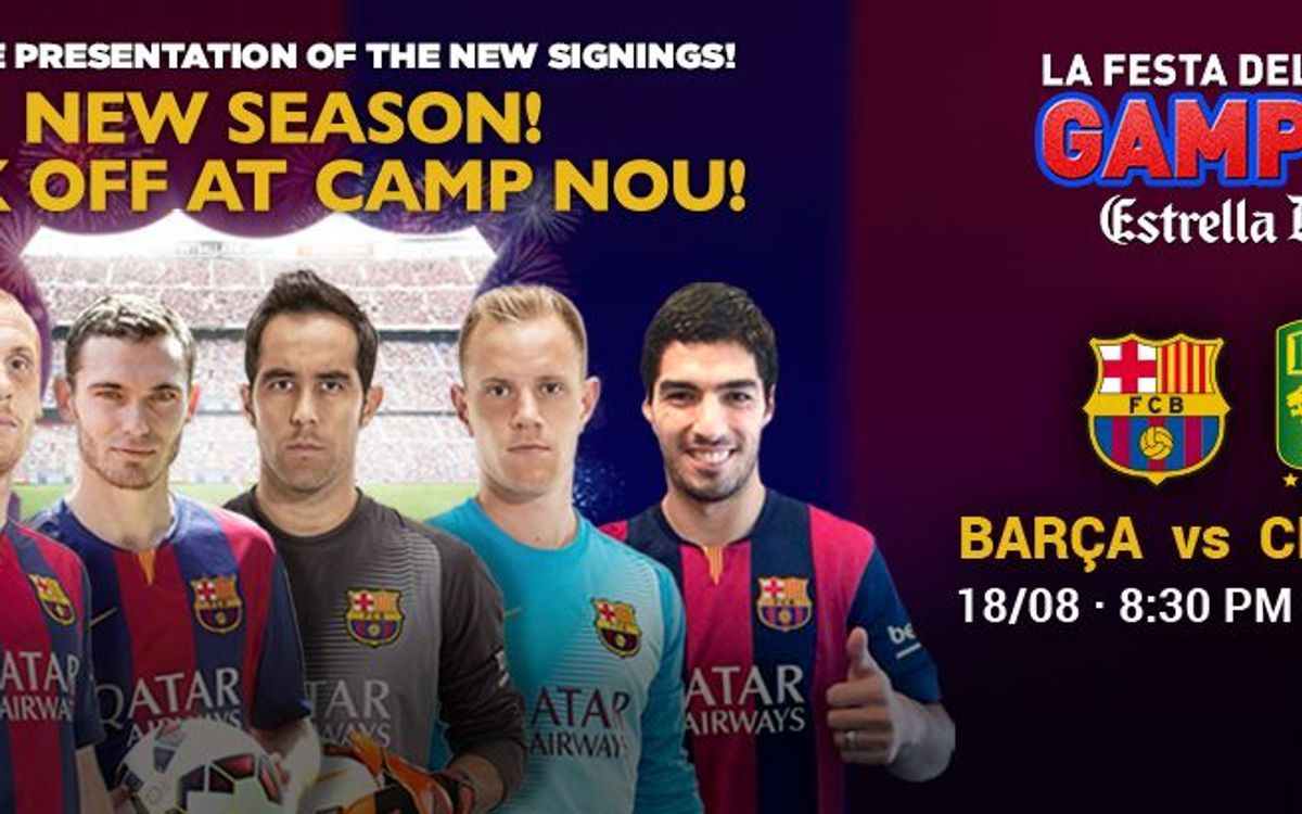 10 reasons to come to the Trofeu Joan Gamper