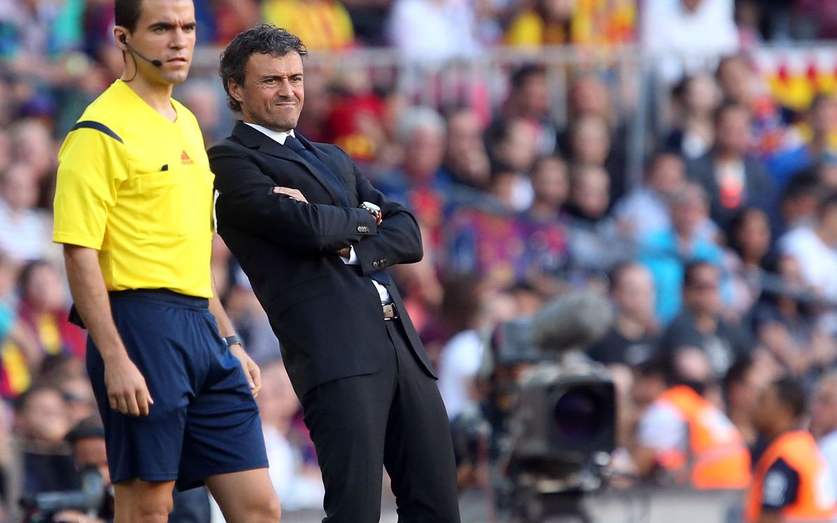 Luis Enrique says team pointed in right direction