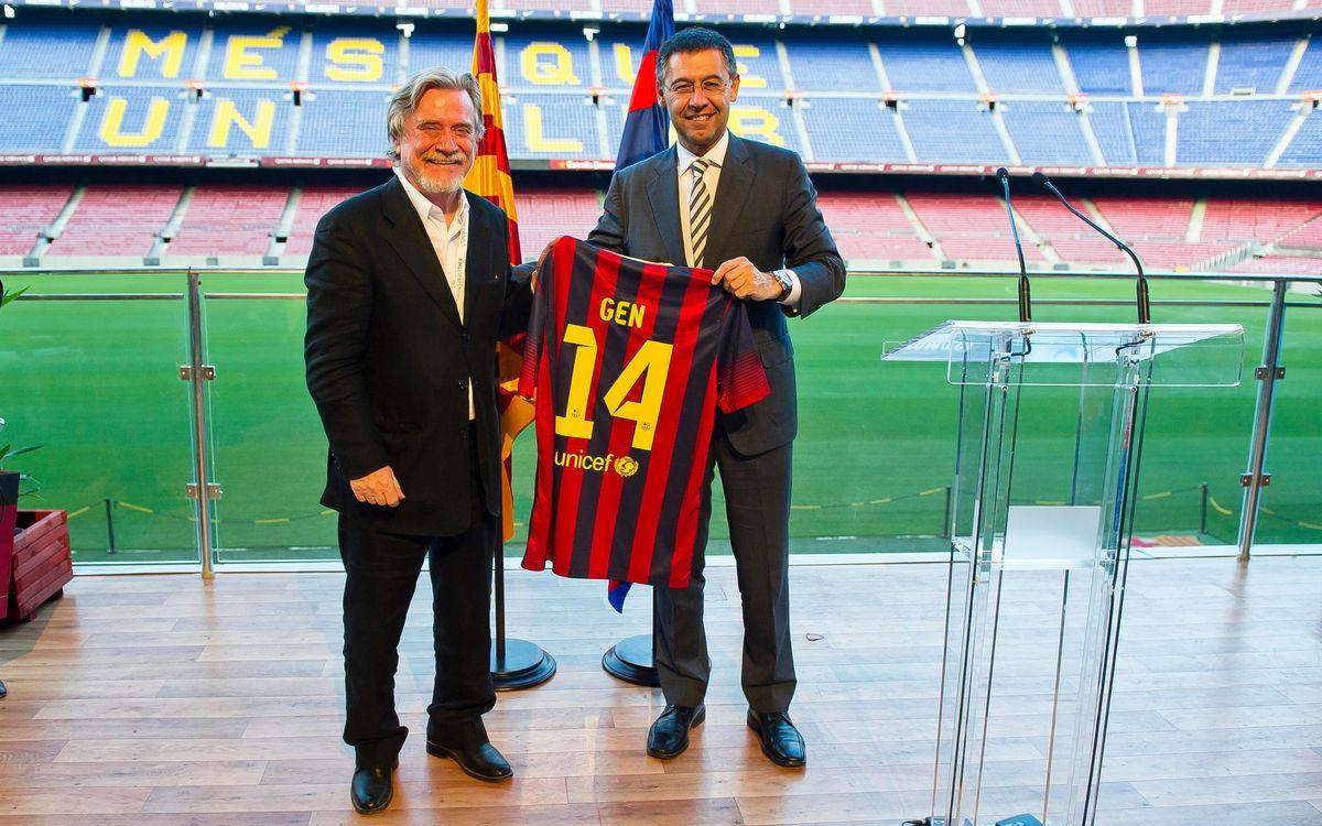 FC Barcelona host the Global Editors Network Summit
