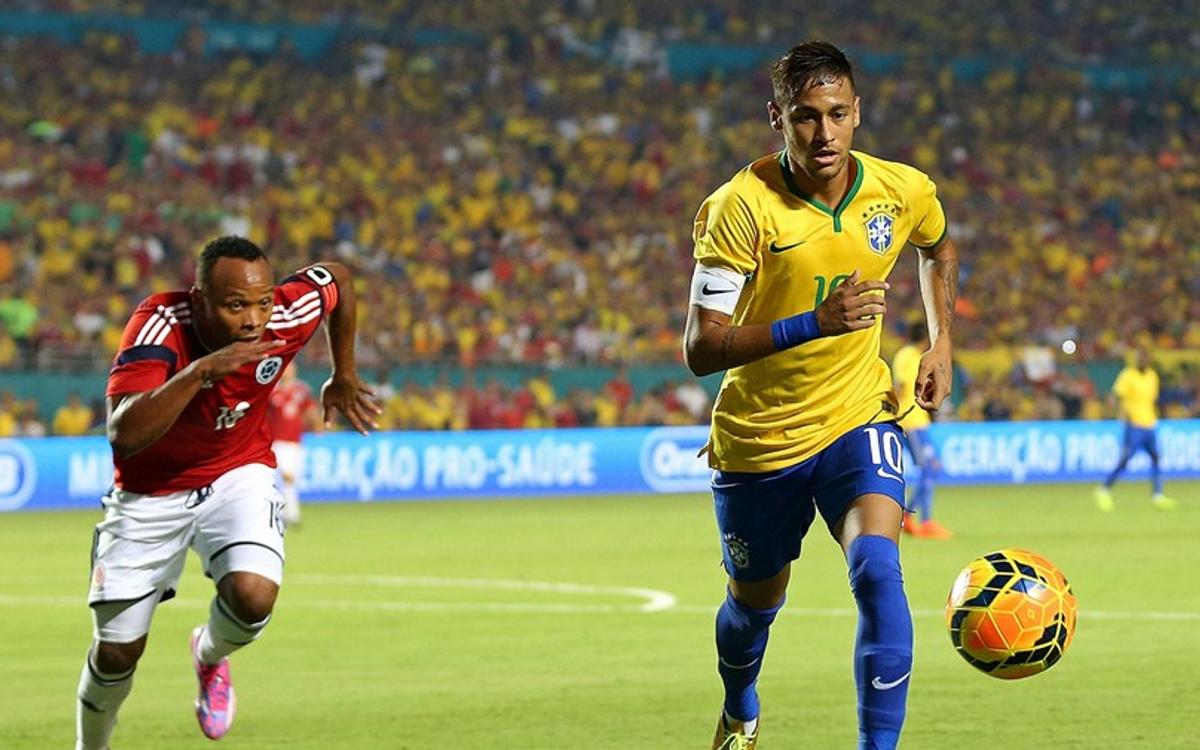 Neymar's winning strike