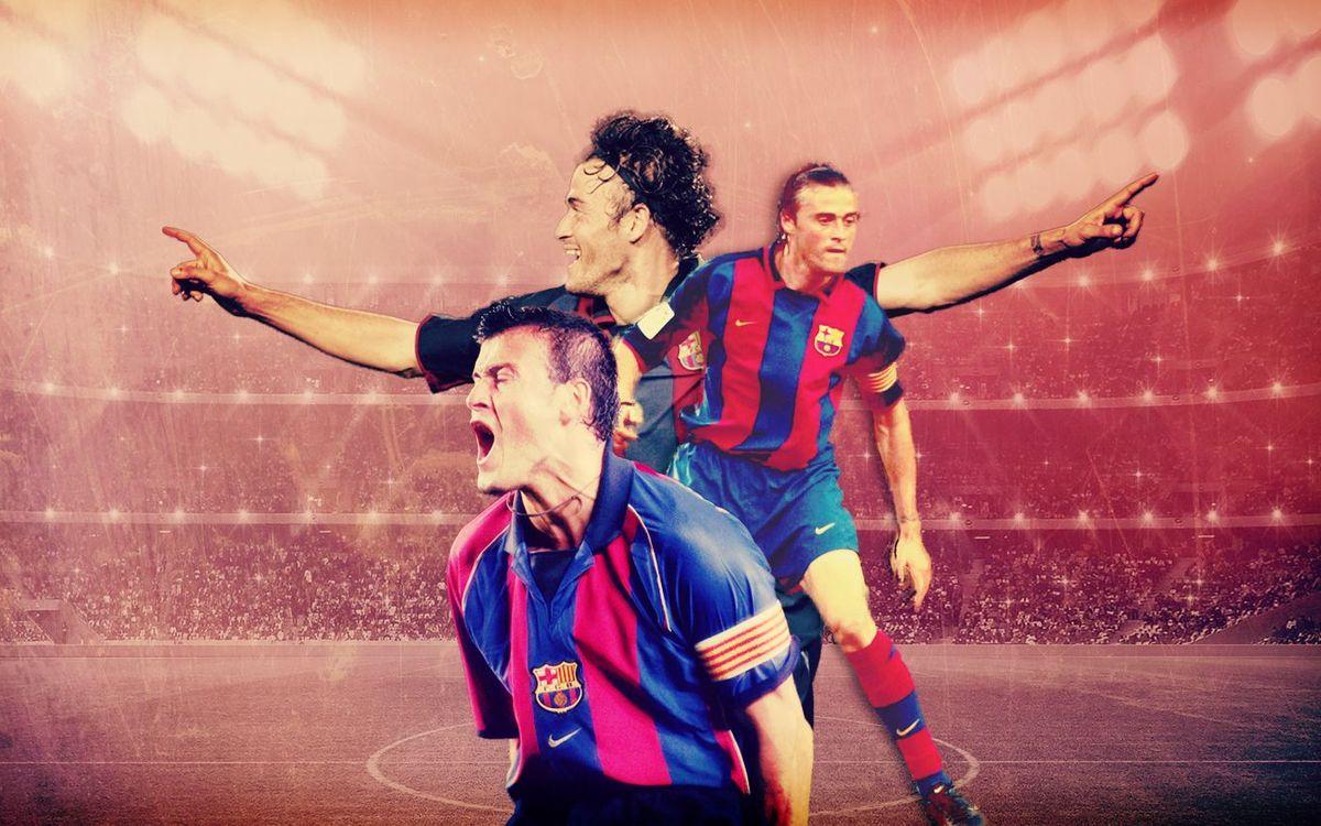 LUIS ENRIQUE: THE FOOTBALL PLAYER