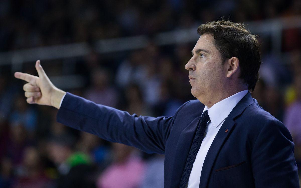 """Xavi Pascual: """"L'entrada de Pullen ha canviat el signe del partit"""""""