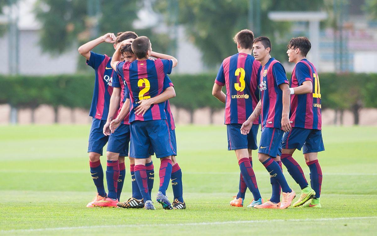 UE Cornellà – FC Barcelona: Reactivats amb el joc (1-5)