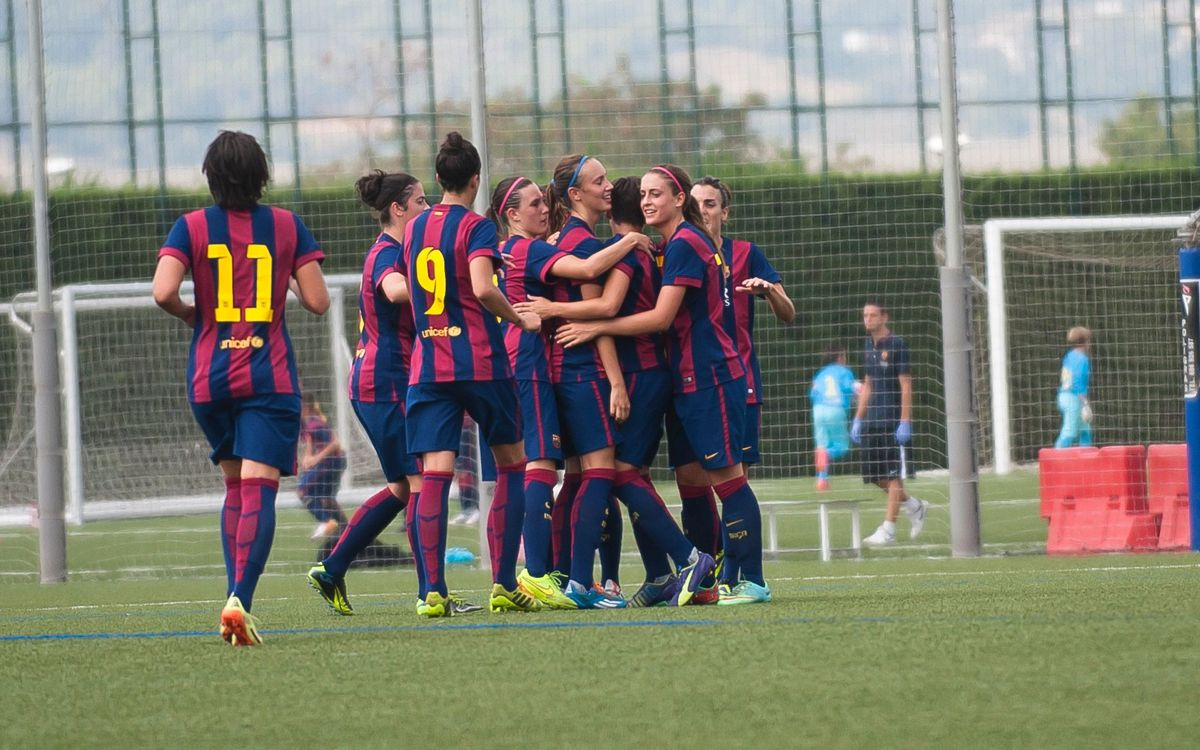 DIRECTE / FC Barcelona - Santa Teresa (1a femenina)