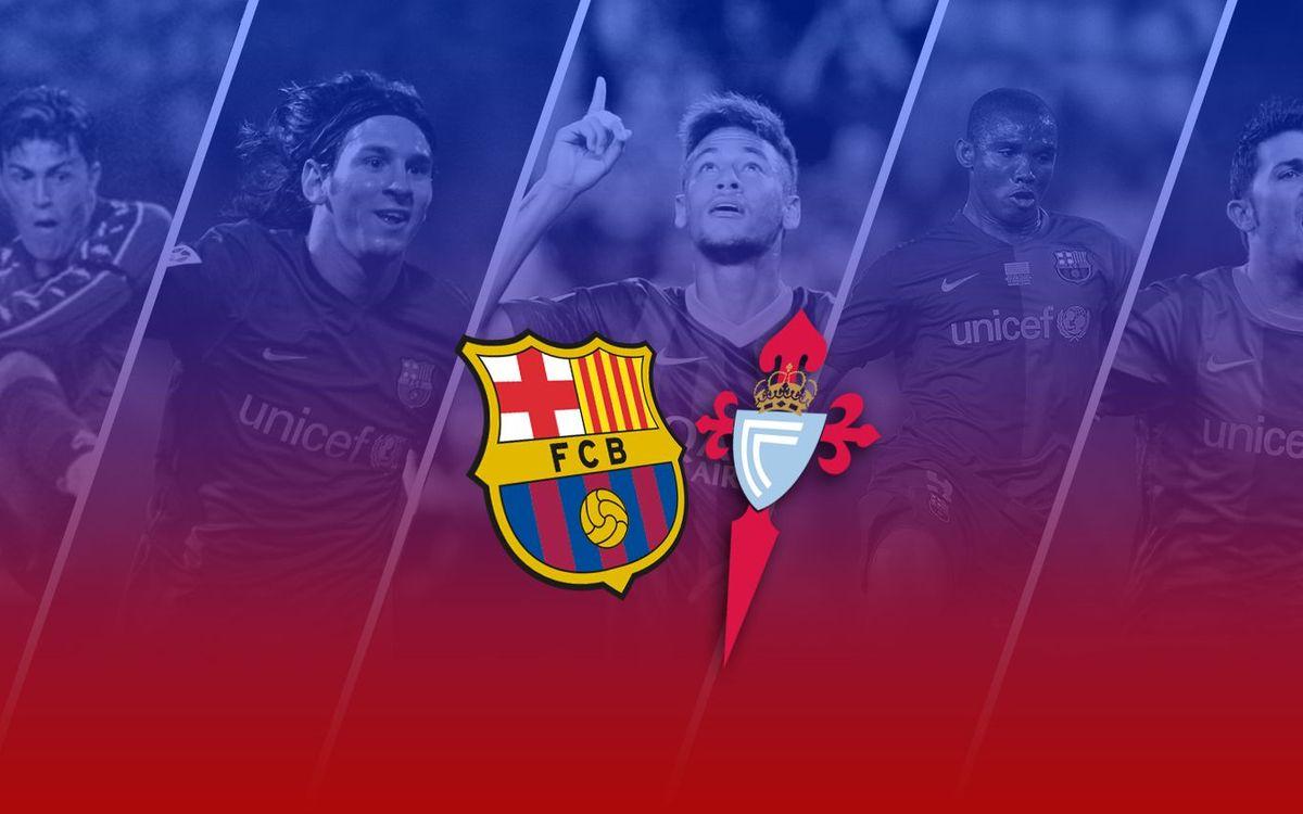 TOP5: All-time goals vs. Celta at Camp Nou