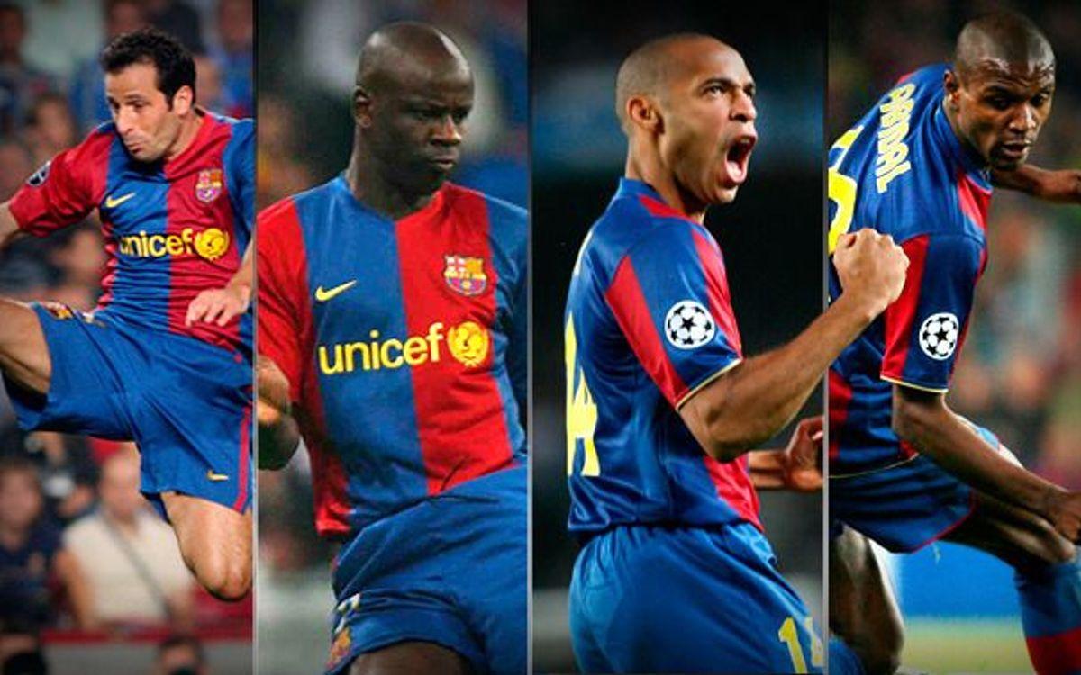 Les joueurs français de l'histoire du Barça