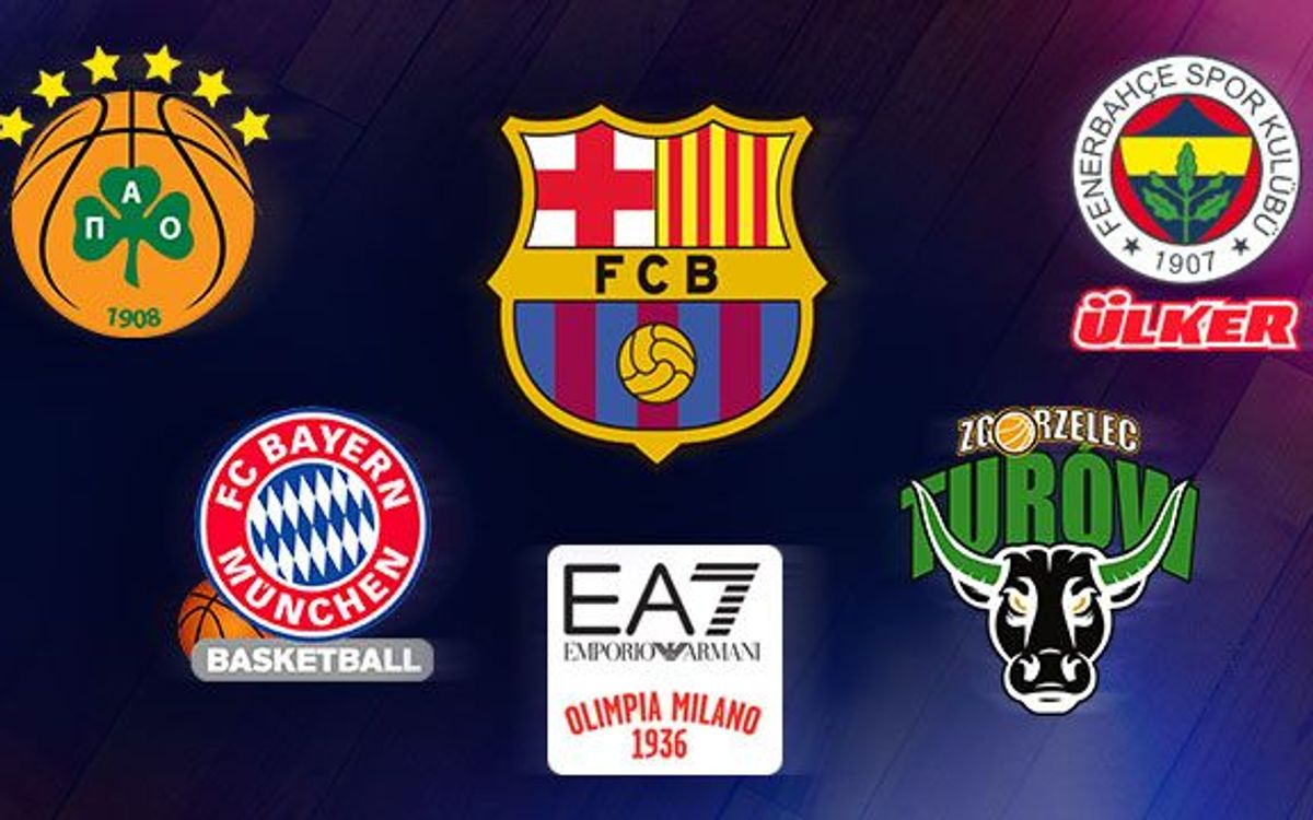 Tough group for Barça in the Euroleague first phase